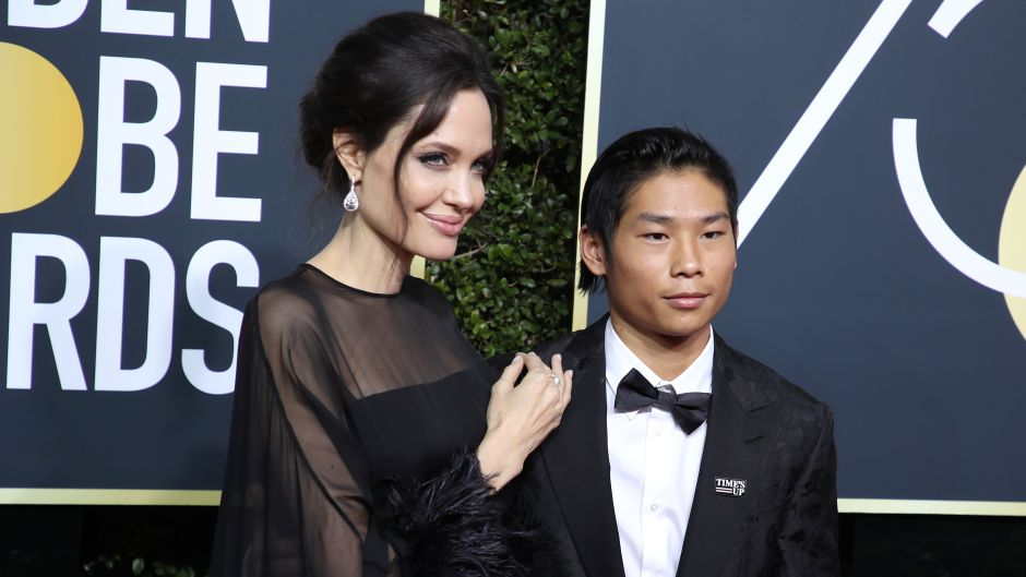 Angelina Jolie and Son Pax Have Sweet Dinner Date Photos