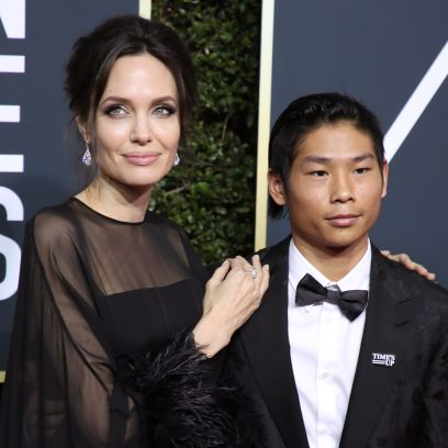 Angelia Jolie and Brad Pitt's Son Pax Today