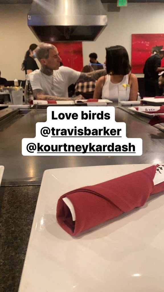 Landon Barker Gushes Over 'Lovebirds' Travis and Kourtney