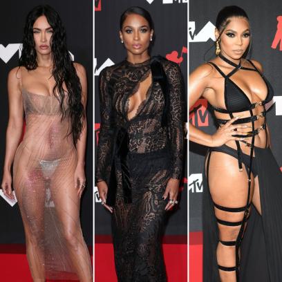 2021MTVVMAs: Photos of Celebrities'Revealing, NakedOutfits