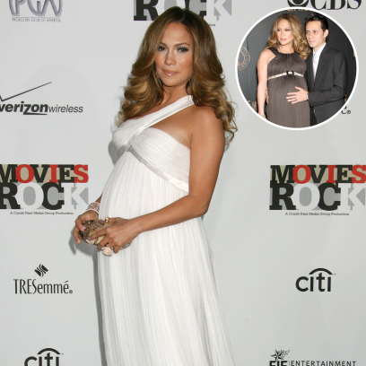 Jennifer Lopez Photos While Pregnant With Twins Max, Emme