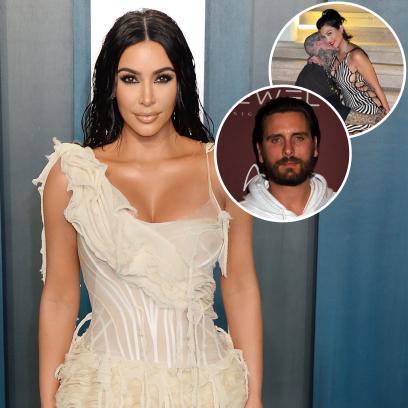 Kim Kardashian Reacts to Kourtney's Relationship With Travis Barker Amid Scott Disick Drama