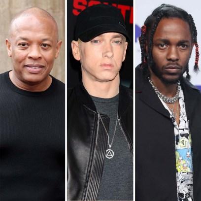 Dream Team Dr Dre Eminem Kendrick Lamar More Perform Super Bowl LVI Halftime Show
