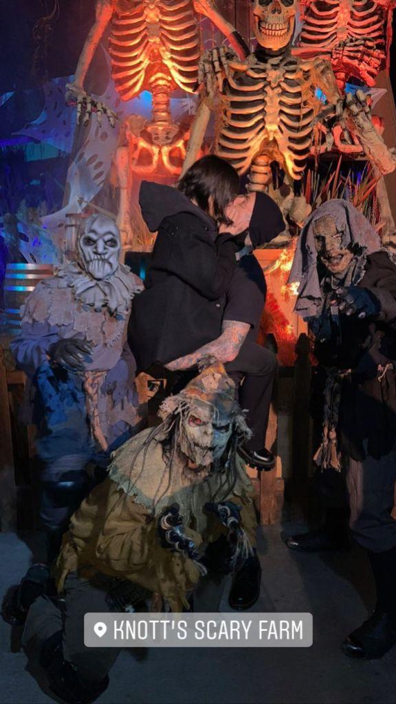 Hollywood's 'It' Couple Kourtney Kardashian and Travis Barker's Cutest Photos So Far