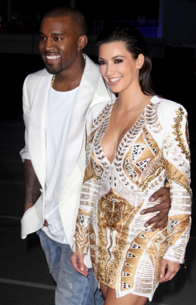 Kim Kardashian Kanye West Cutest Photos