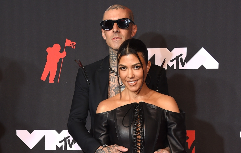 Kourtney and Travis Tour the Spooky 'Witch's House' in Beverly Hills
