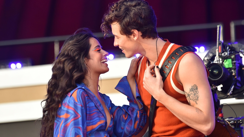 PDA Performance! Shawn Mendes and Camila Cabello Kiss on Stage at Global Citizen Festival