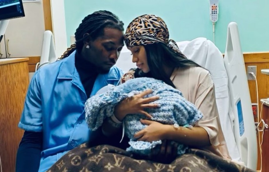 Cardi B Gives Birth to Baby No. 2 With Offset After Kulture
