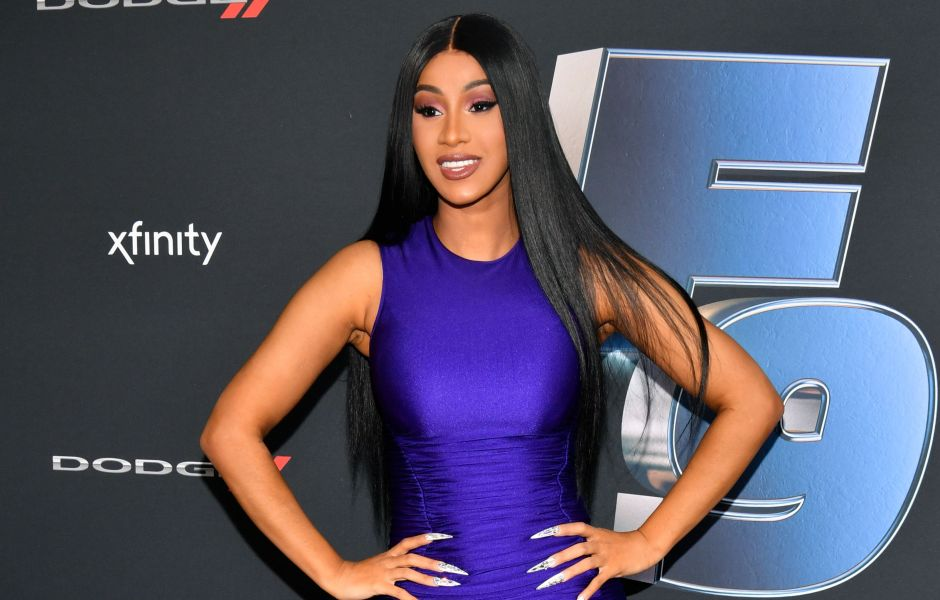 Cardi B Says Postpartum Hormones Make Her Cry After Son's Birth