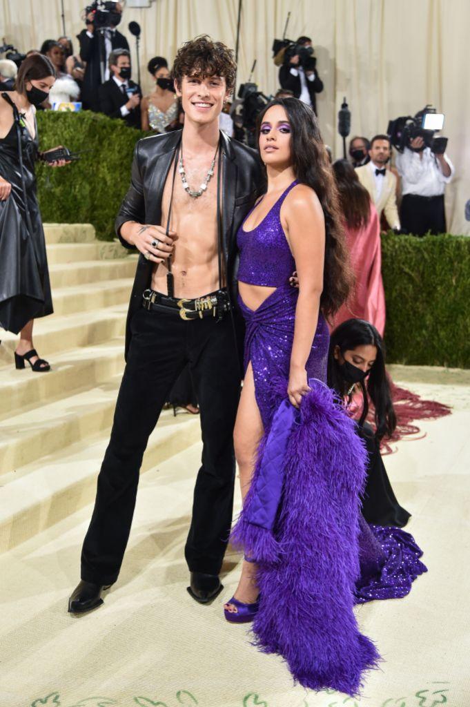 Camila Cabello Shawn Mendes 2021 Met Gala Photos