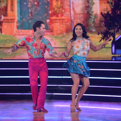 Sunisa Lee Dancing With the Stars DWTS Costumes Disney Week