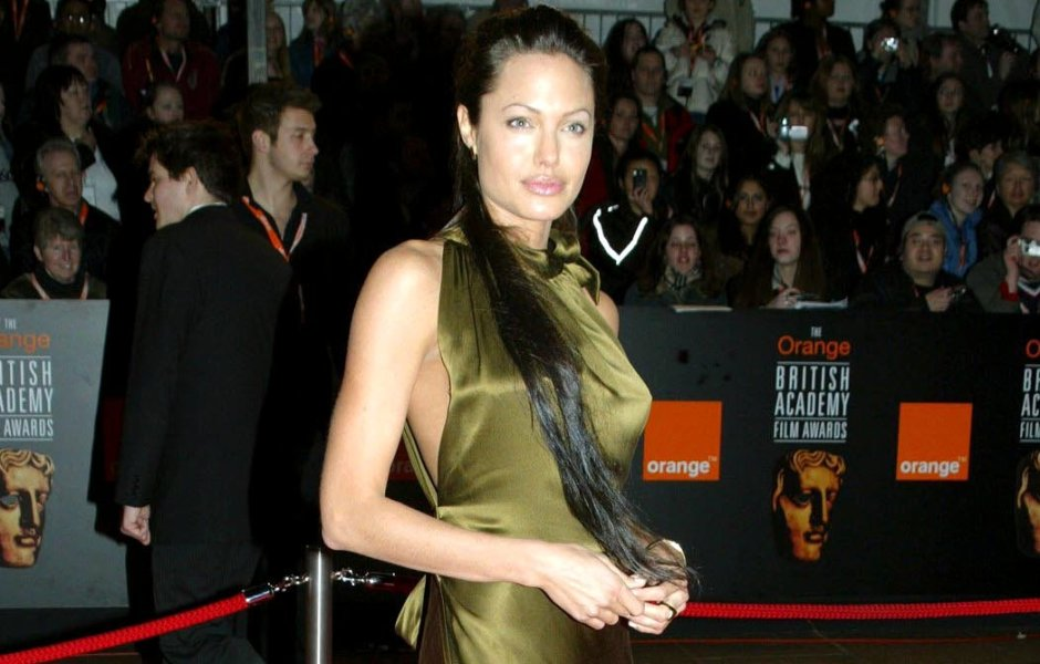 Angelina Jolie's Most Fashionable Braless Looks Over the Years: See Photos!