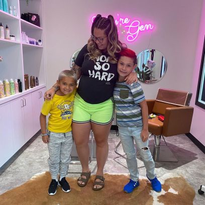 Celebrity Kids Rocking Dyed Hair! Kourtney Kardashian's Daughter, Kailyn Lowry's Sons and More