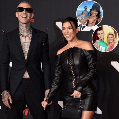 How Scott Disick and Shanna Moakler Feel About Kourtney Kardashian and Travis Barker's Engagement