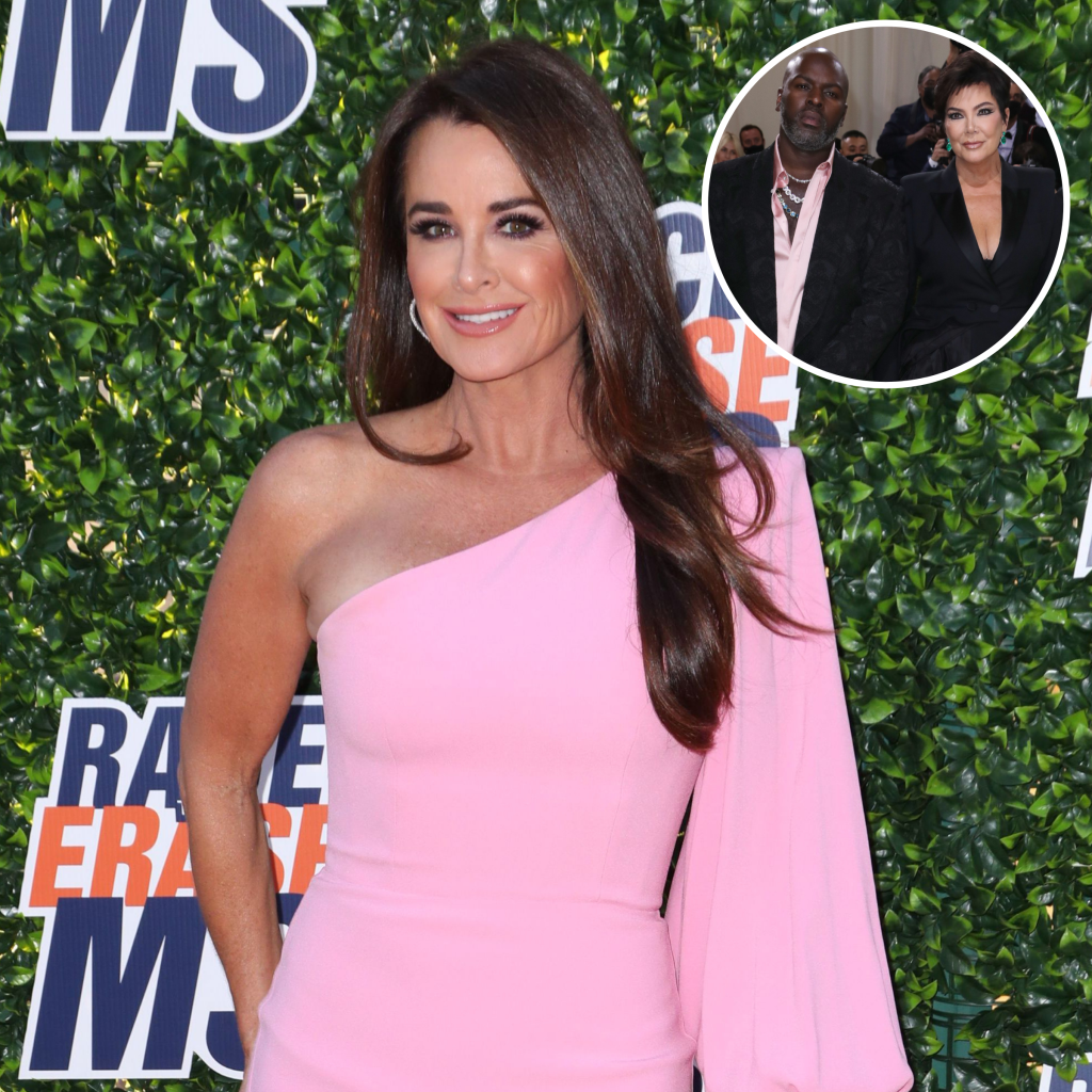 Kyle Richards Gushes Over Kris Jenner and Boyfriend Corey Gamble