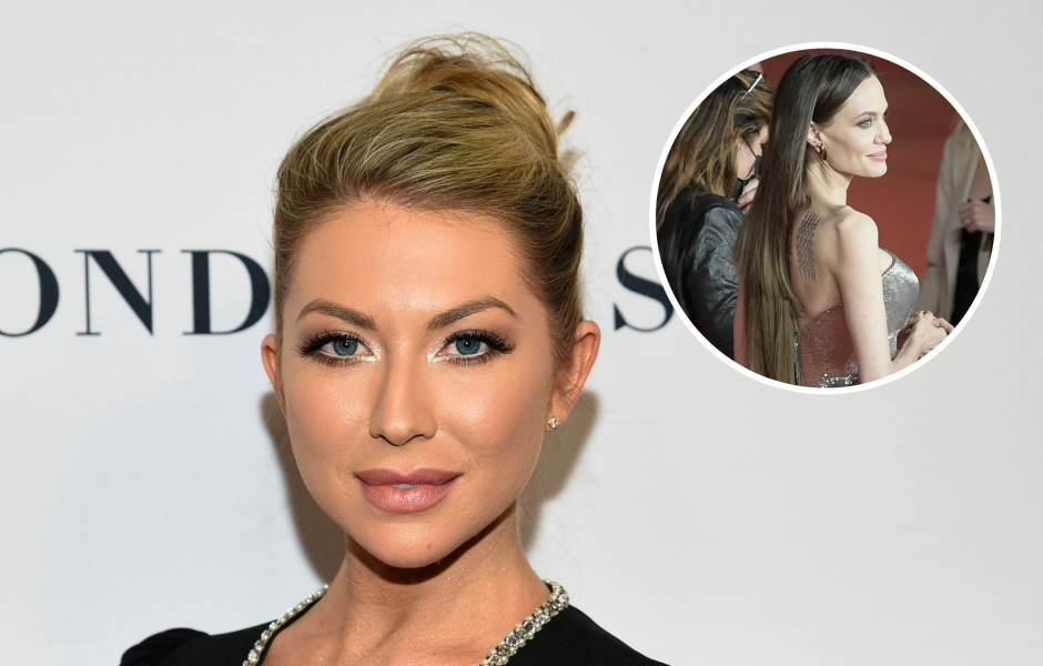 Stassi Schroeder Shades Angelina Jolie's 'Unblended' Extensions