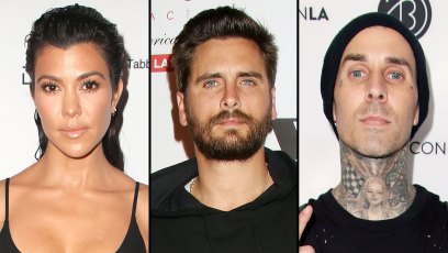 Kourtney Shares Family Text With Scott About Kindness After Travis Engagement