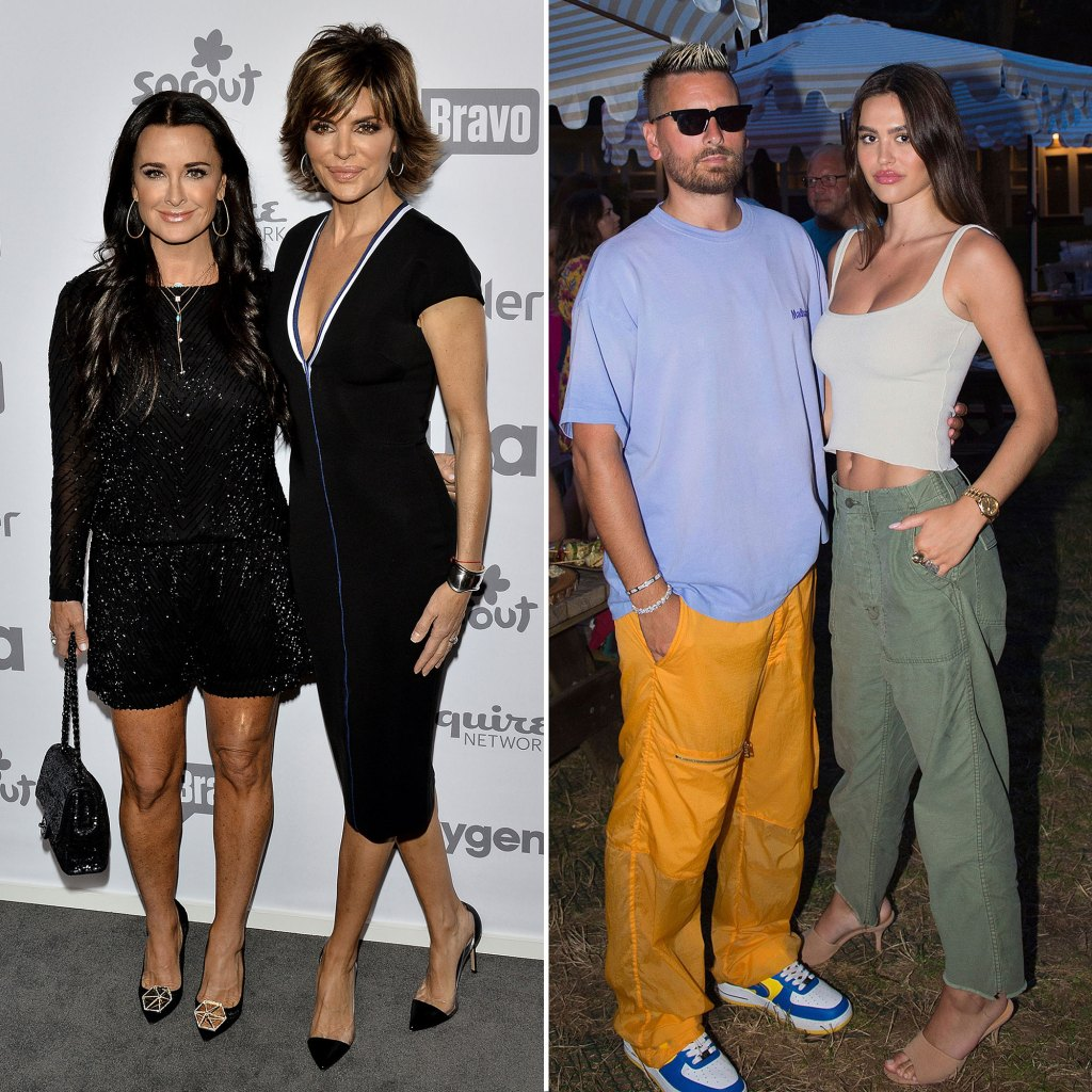 Kyle Richards Says 'RHOBH' Costar Lisa Rinna Is 'Just Thrilled' Daughter Amelia Dumped Scott Disick
