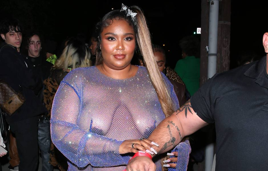 Lizzo's Best Braless Moments Over the Years: See Photos!