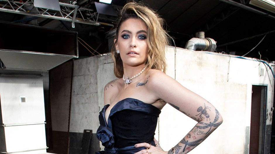 Paris Jackson Stuns in Braless Look at Paris Fashion Week
