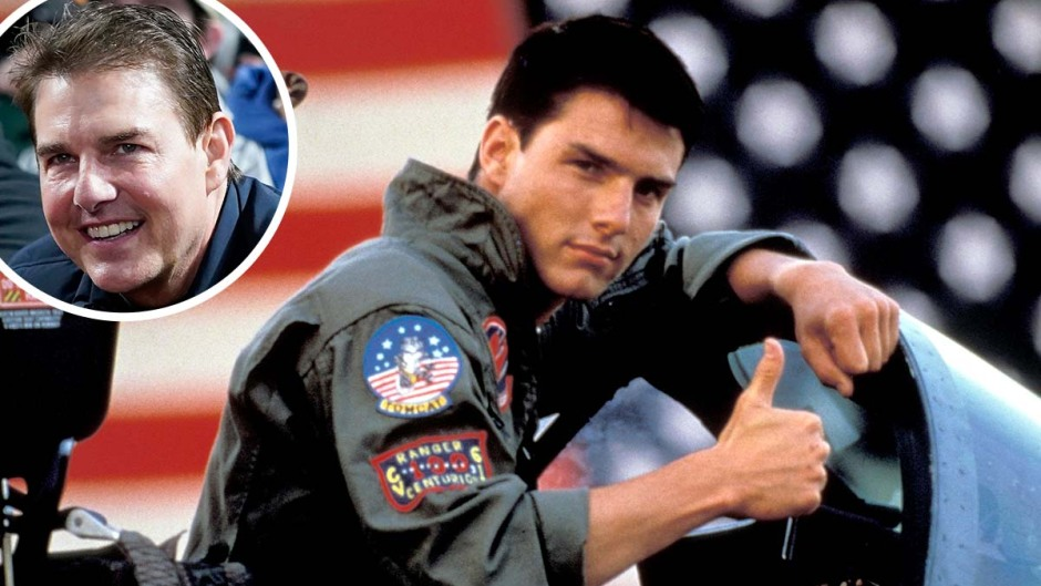 See Tom Cruises Total Transformation From Young 80s Hunk Today In Photos