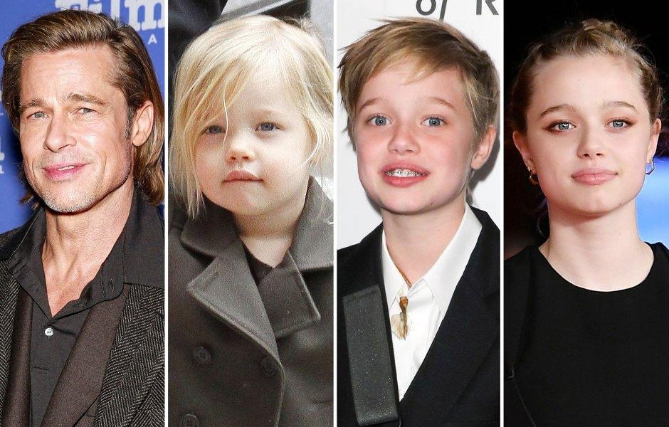 Shiloh Jolie Pitt Is Brad Pitt Mini Me See Photos Look Alike Duo