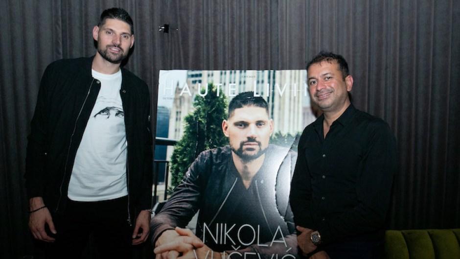 haute living celebrates nikola vucevic