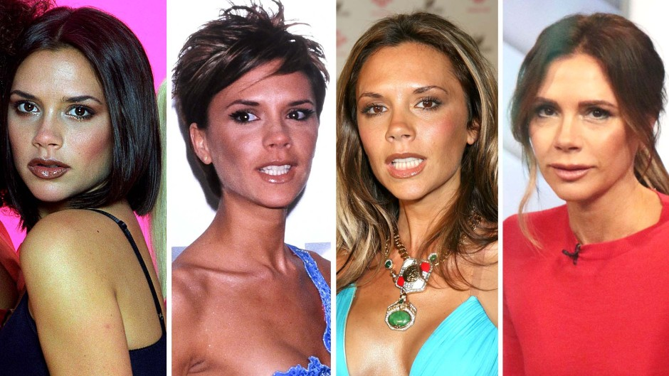 Victoria Beckhams Total Transformation From Spice Girl Today See Photos