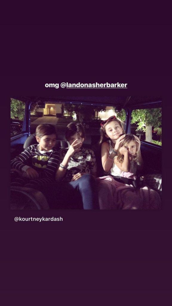 Kourtney Kardashian Shares a Sweet Photo of Her and Travis Barker's Kids From 2017: 'OMG'